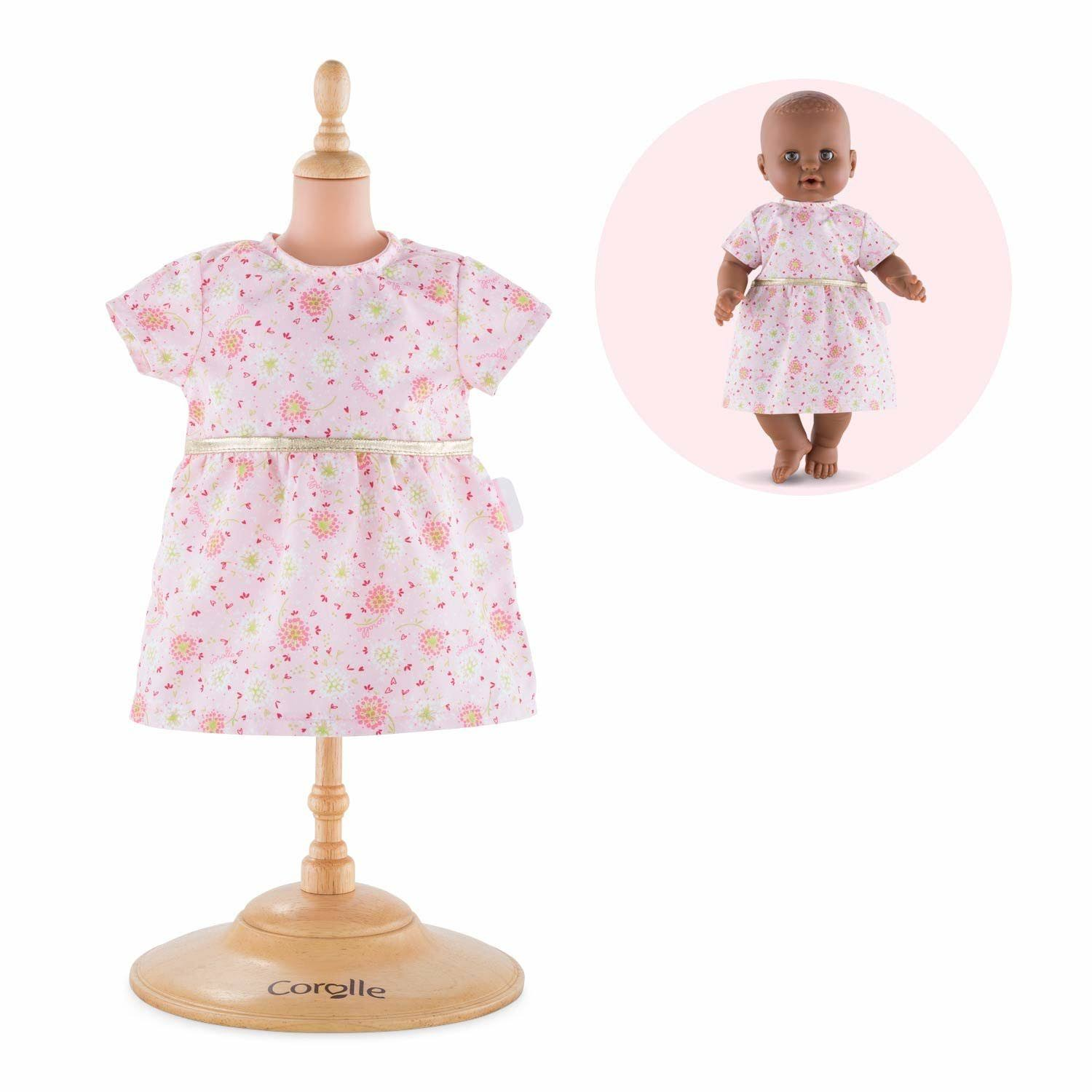 "Corolle Mon Grand Poupon Baby Doll Dress Toy - 14"", Pink"