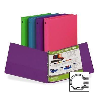 "Samsill Fashion Assorted Value Storage Binder, 11"" x 8.5"""