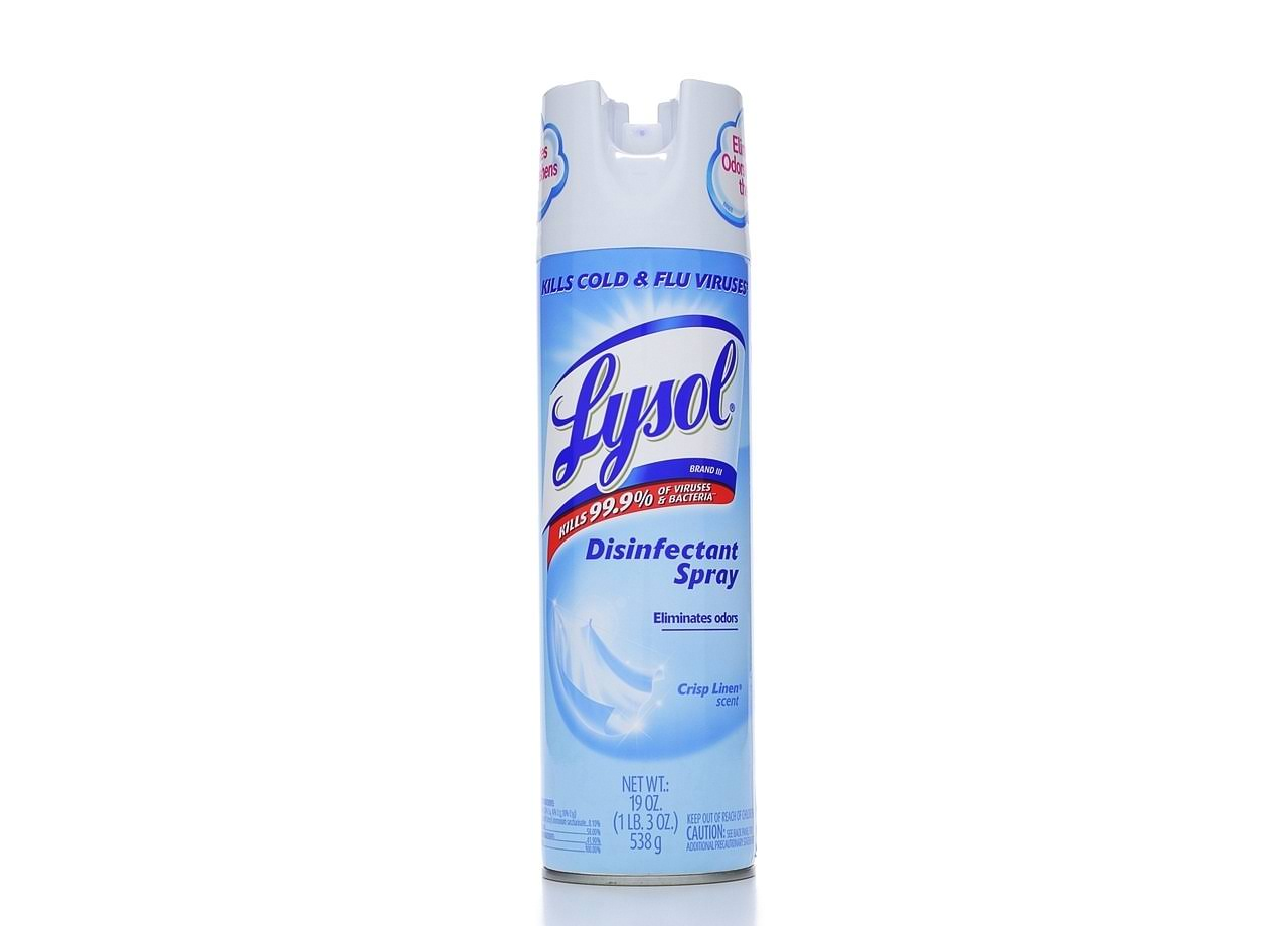 Lysol Disinfectant Spray - Crisp Linen, 538g