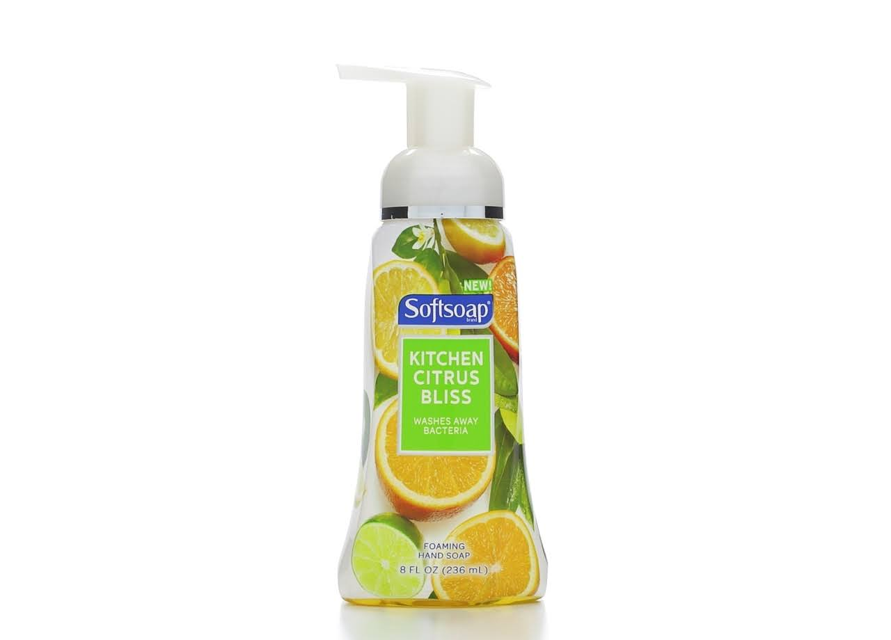 Softsoap Foaming Hand Soap - Kitchen Citrus Bliss, 8oz