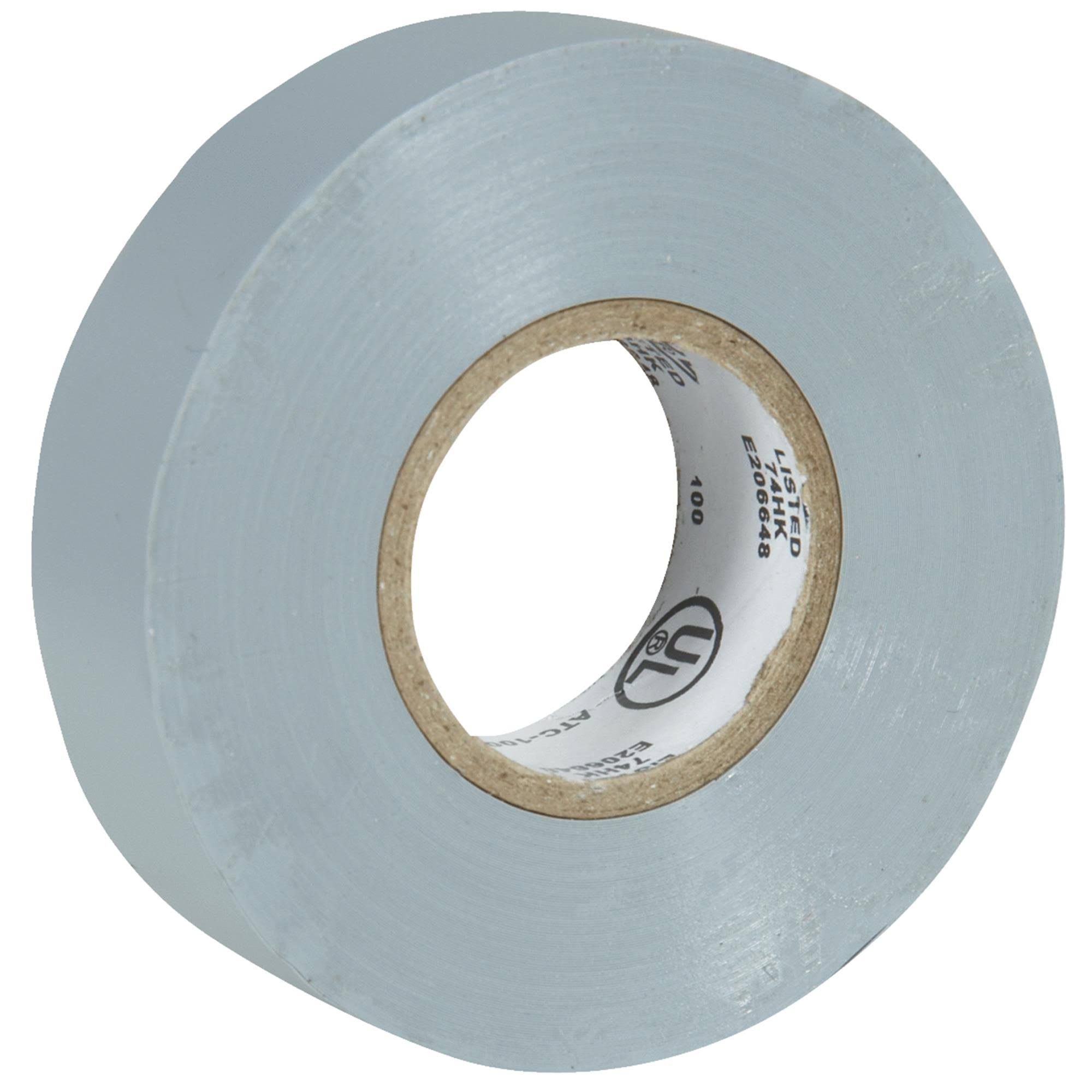 "Sim Supply 515183 Electrical Tape - Gray, 3/4"" x 20'"