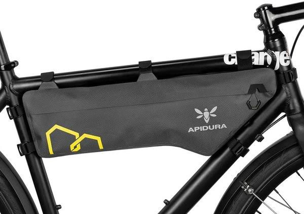Apidura Expedition Compact Frame Pack - Grey/Yellow