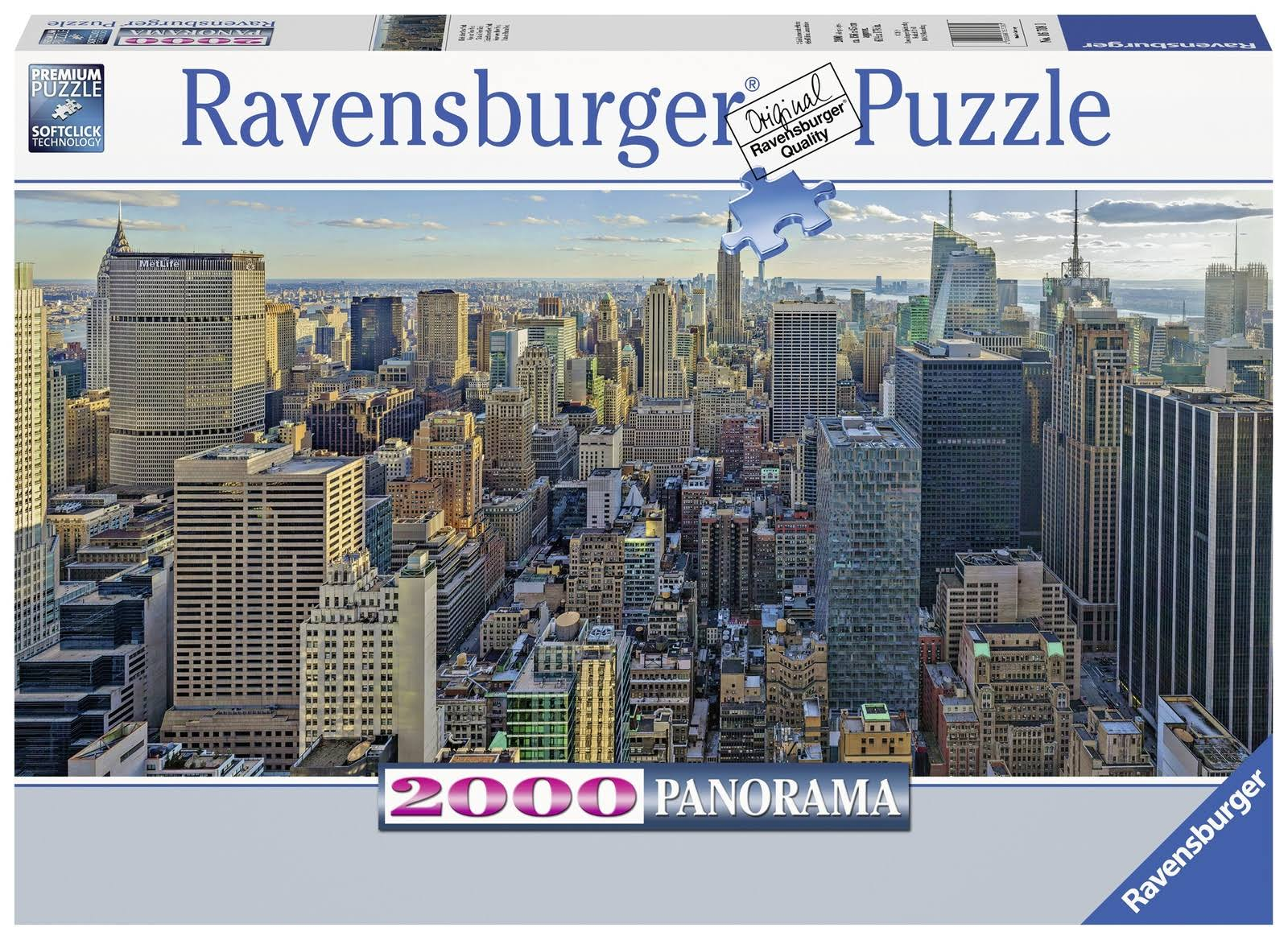 Ravensburger View Over New York Adult Puzzles - 2000pcs