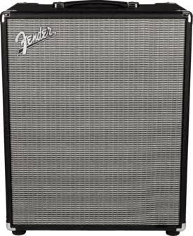 Fender Rumble 200 v3 Bass Combo Amplifier - Black/Silver, 120V, 200W