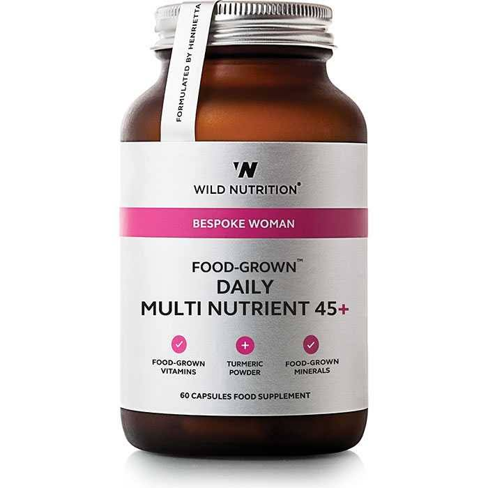Wild Nutrition Bespoke Woman Food-Grown Daily Multi Nutrient 45+ 60