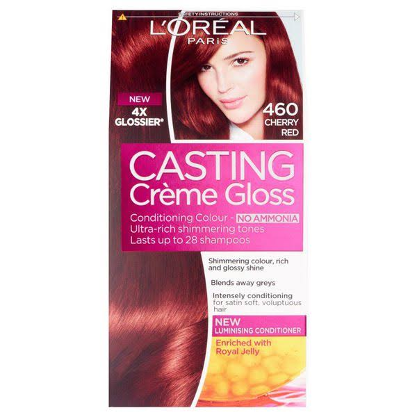 L'Oréal Paris Casting Creme Gloss Hair Colour - 460 Cherry Red