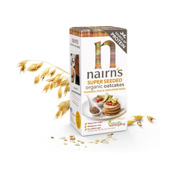 Nairns Organic Super Seeded Oatcakes 200 G