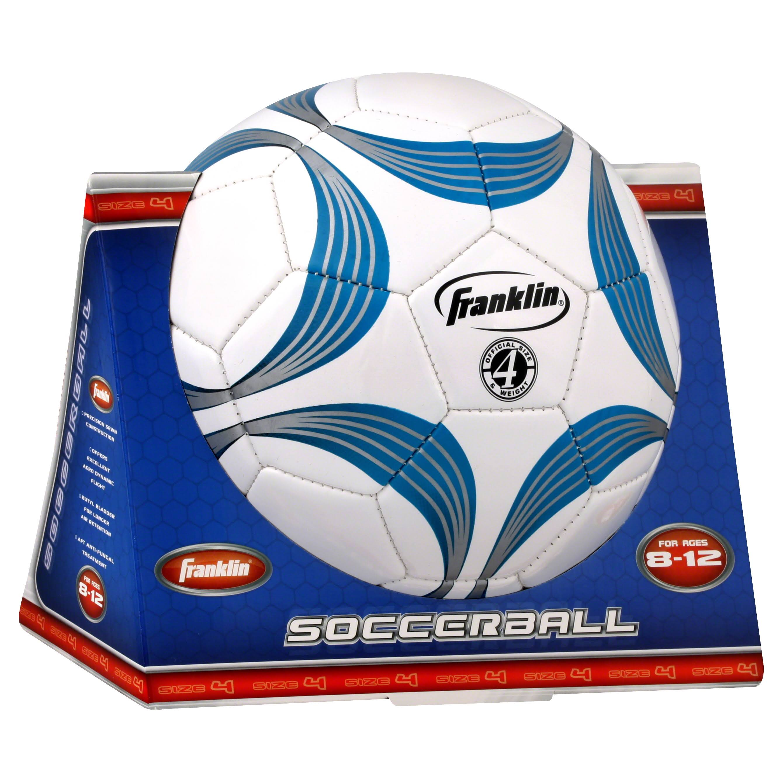 Franklin Sports Size 4 Soccer Ball