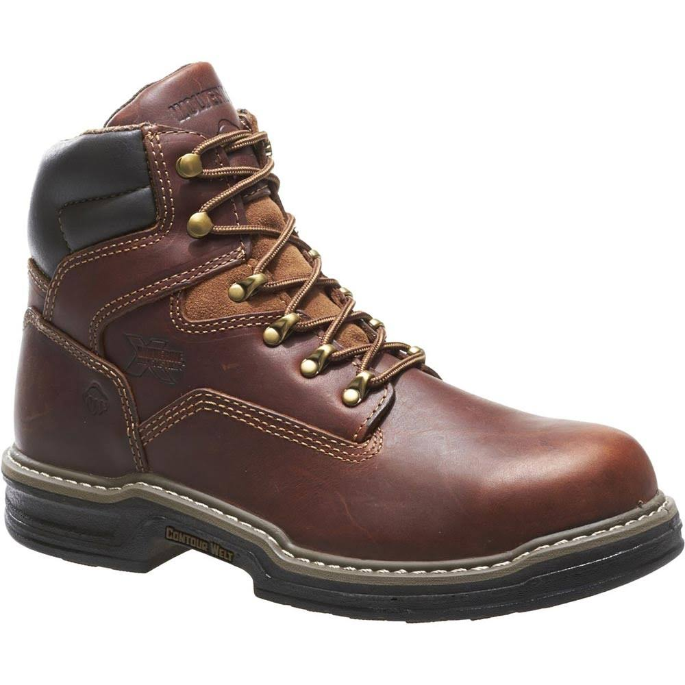Wolverine Men's Steel Toe Raider Boot - Brown, 9.5 US