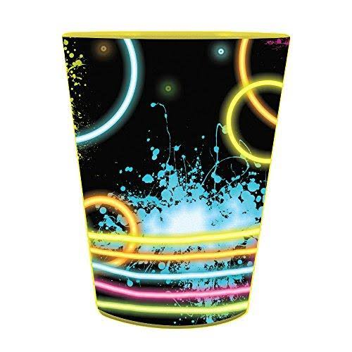 Creative Converting Glow Party Favor Cup - 16oz, Plastic