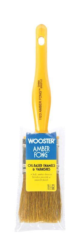 Wooster Amber Fong Bristle Brush - 1-1/2''