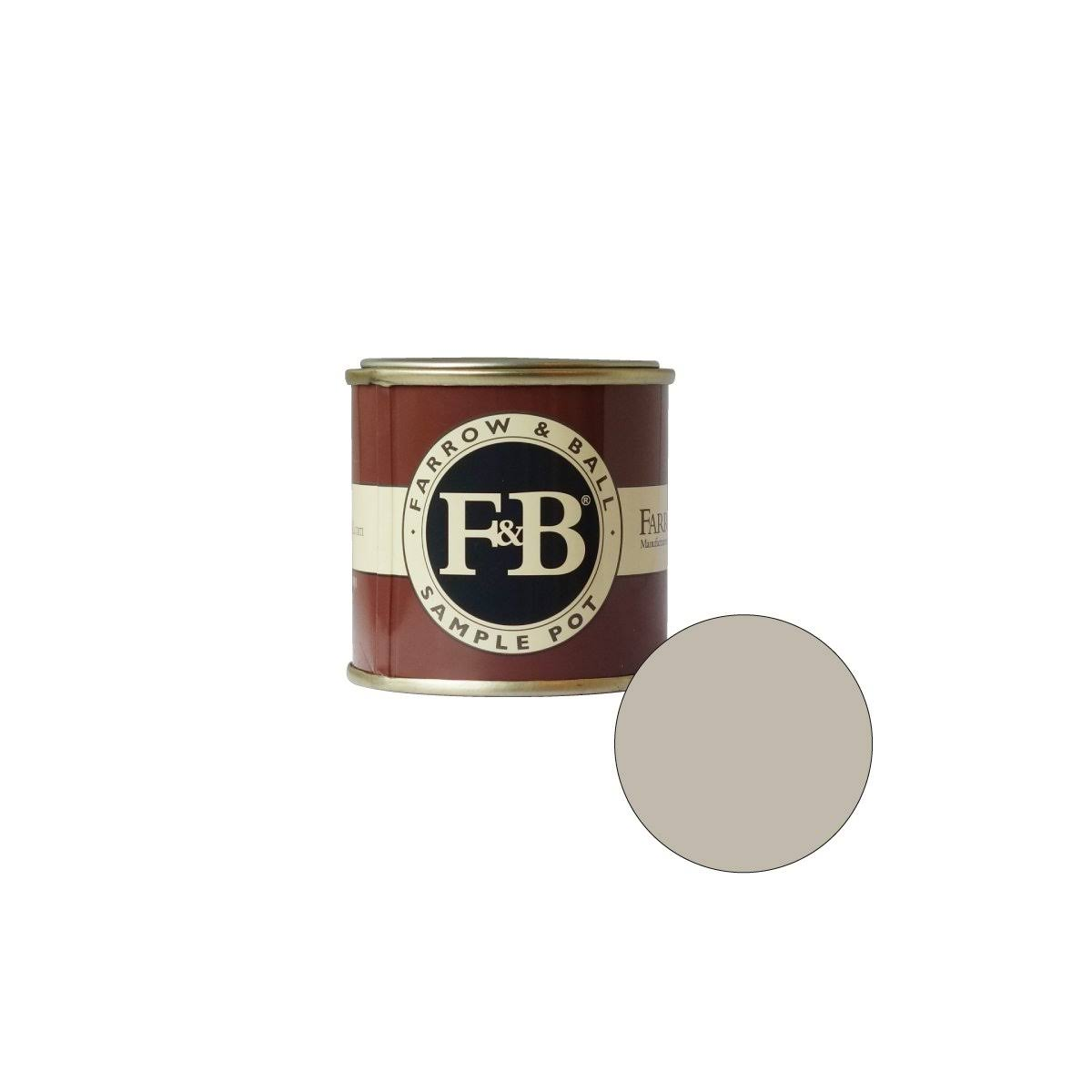 Farrow & Ball Estate No.242 Pavilion Gray - Emulsion Paint - 100ml
