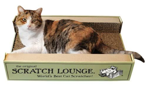 The Original Scratch Lounge Worlds Best Cat Scratcher