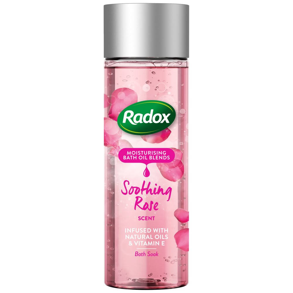 Radox Bath Soak - Soothing Rose Scent, 200ml