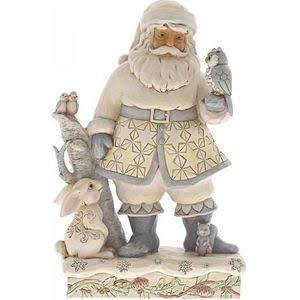 Heartwood Creek Woodland Santa With Animals Figurine