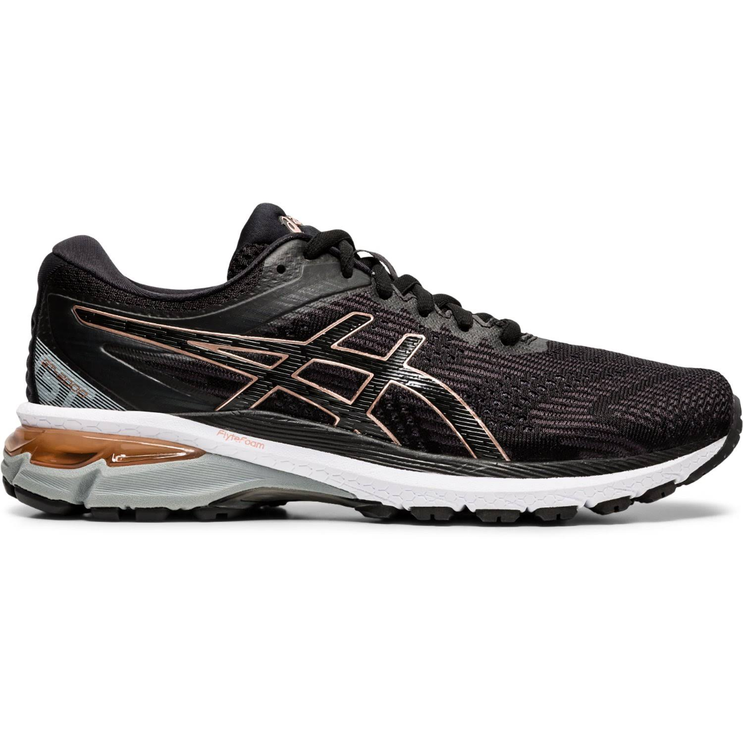 Women's | Asics | GT-2000 8 Black/Rose Gold / 9