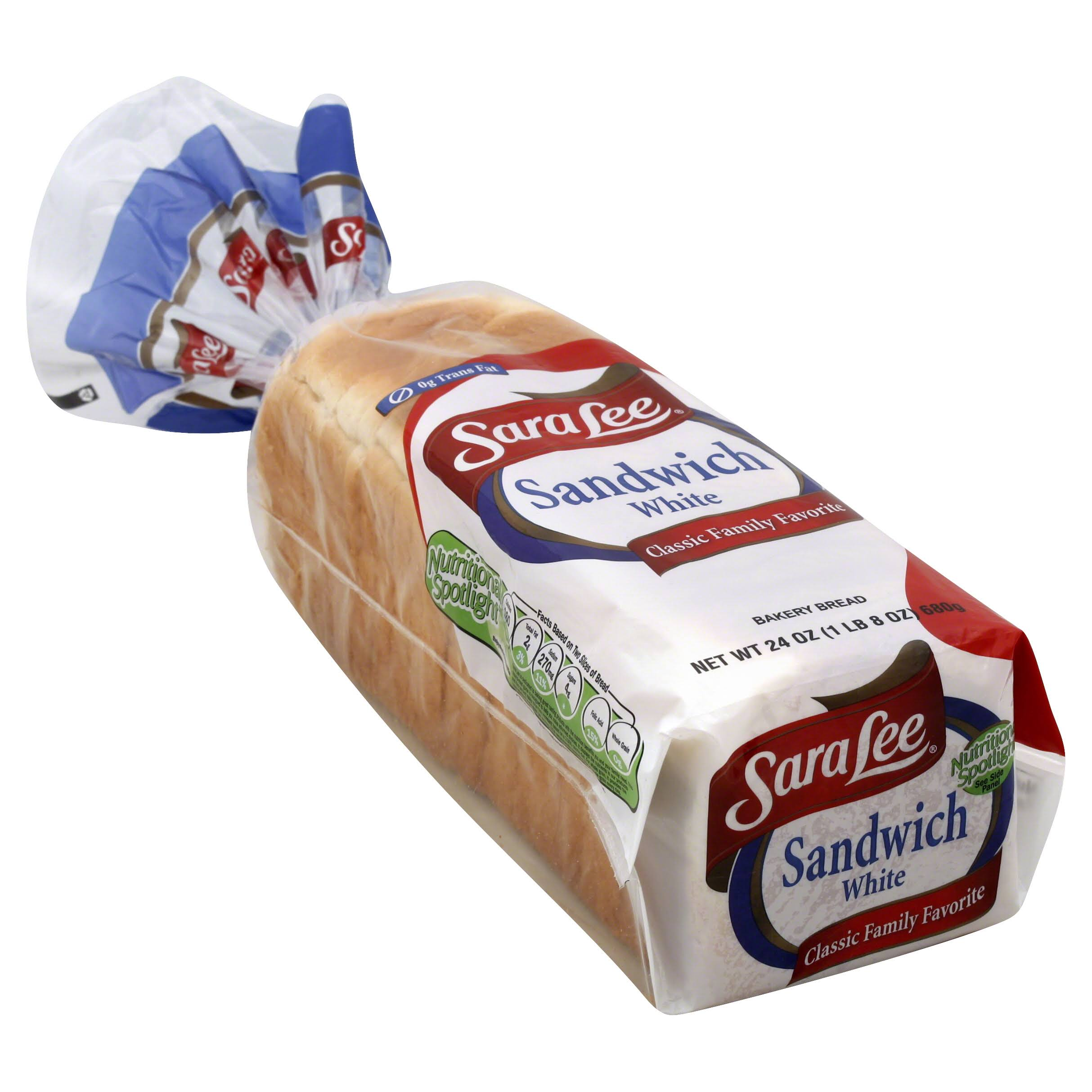 Sara Lee Sandwich White Bread - 24oz