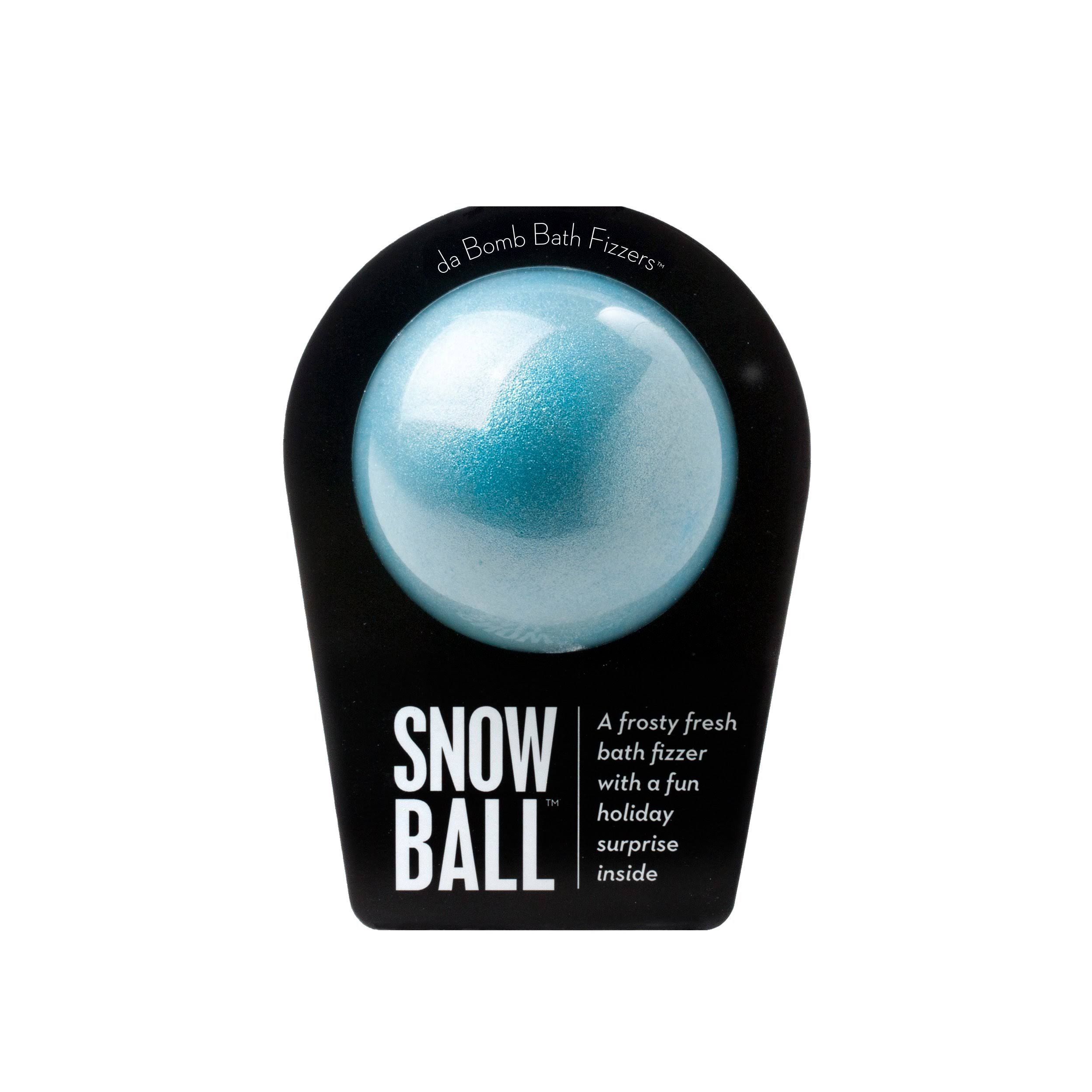 Da Bomb 7.0 oz. Snow Ball Bath Bomb