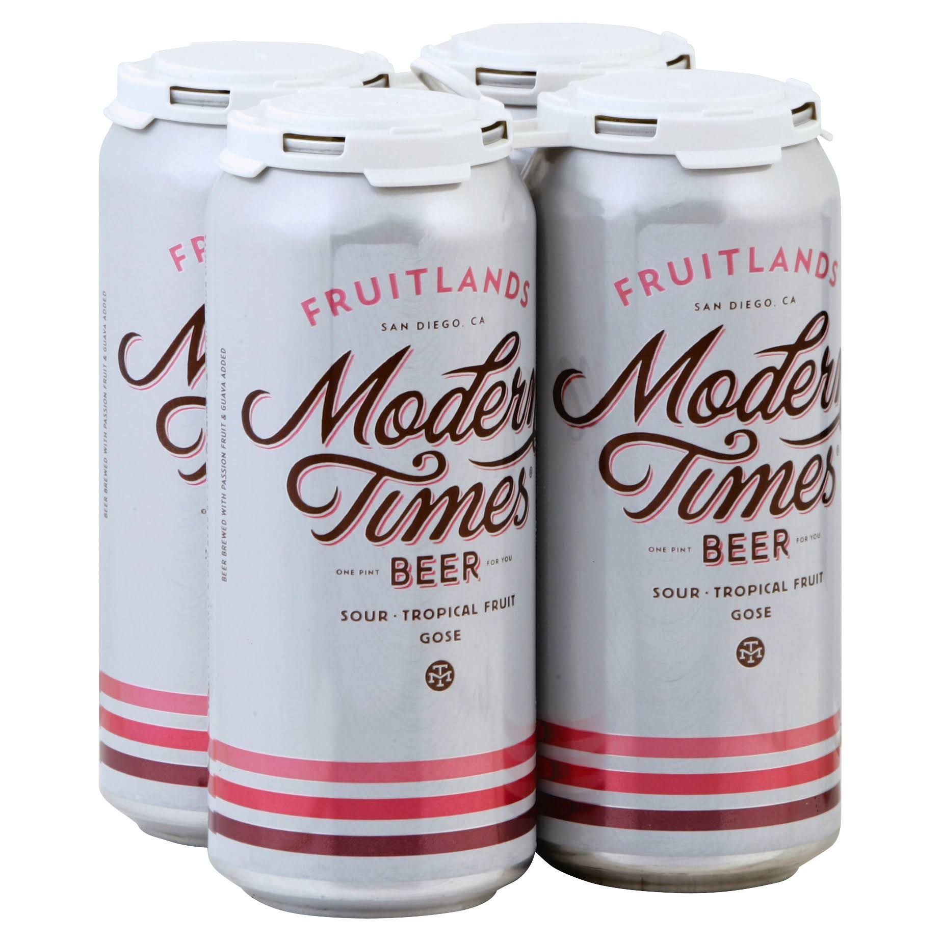 Modern Times Beer, Fruitlands - 4 - 1 pint cans