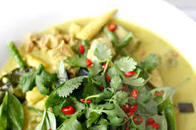 Thai Green Pumpkin Curry Recipe by Milk And Honey Thai Green Chicken Curry