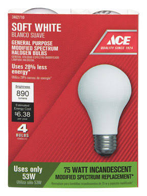 Ace Halogen Bulb - Soft White