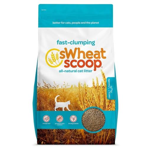 sWheat Scoop Fast-Clumping All-Natural Cat Litter - 25lb