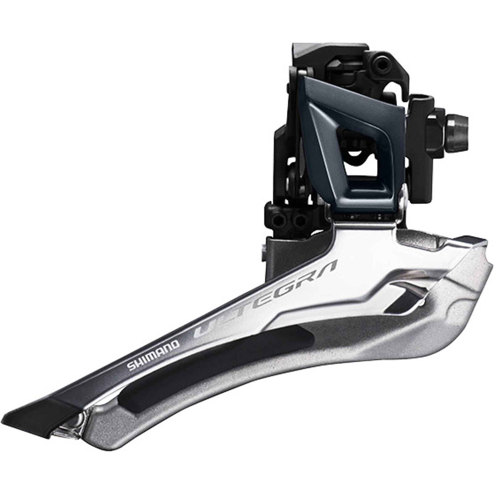 Shimano Ultegra R8000 Braze-On Front Derailleur - Black, 11 Speeds