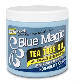 Blue Magic Tea Tree Oil Leave in Conditioner - 390g