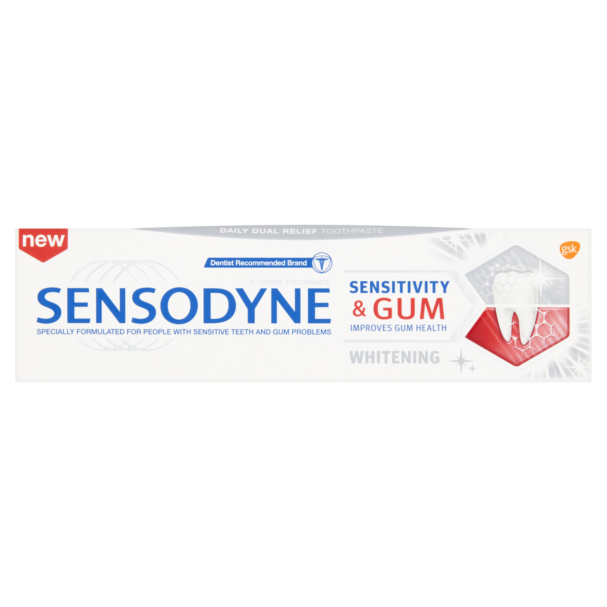 Sensodyne Sensitivity and Gum Whitening Toothpaste - 75ml