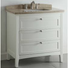 Ebay Bathroom Vanity With Sink by Shop Allen Roth Windleton 36 In X 22 In White Single Sink