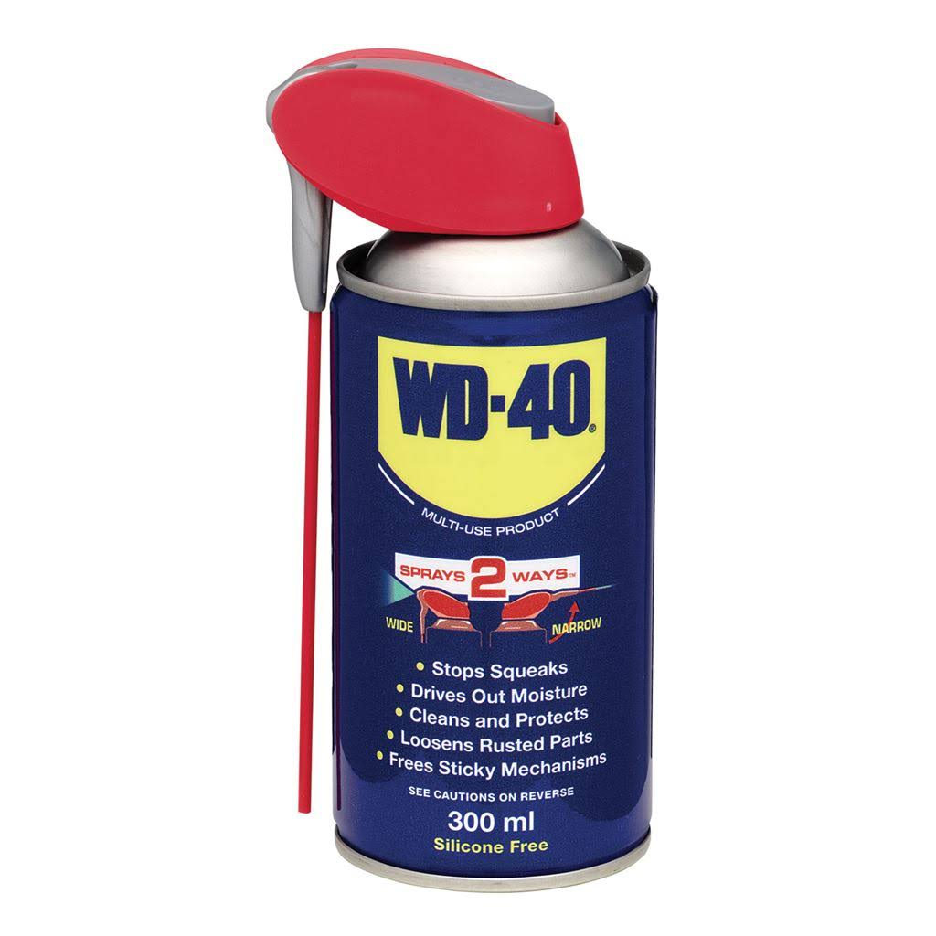 WD40 Multi Use Maintenance Spray - With Smart Straw, 300ml