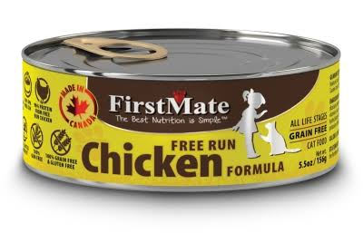 Firstmate Pet Foods Canned Cat Food - Chicken, 5.5oz, 24pk