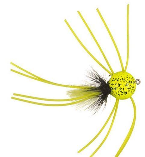 Betts Pop N Round Chartreuse / Size 8