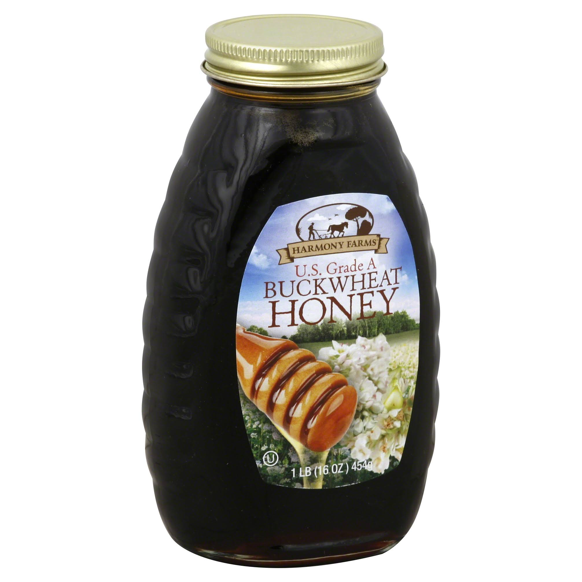 Harmony Farms Honey Buckwheat - 16oz