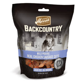 Merrick Backcountry Cuts Treat - Wild Prairie Real Chicken Sausage, 5oz