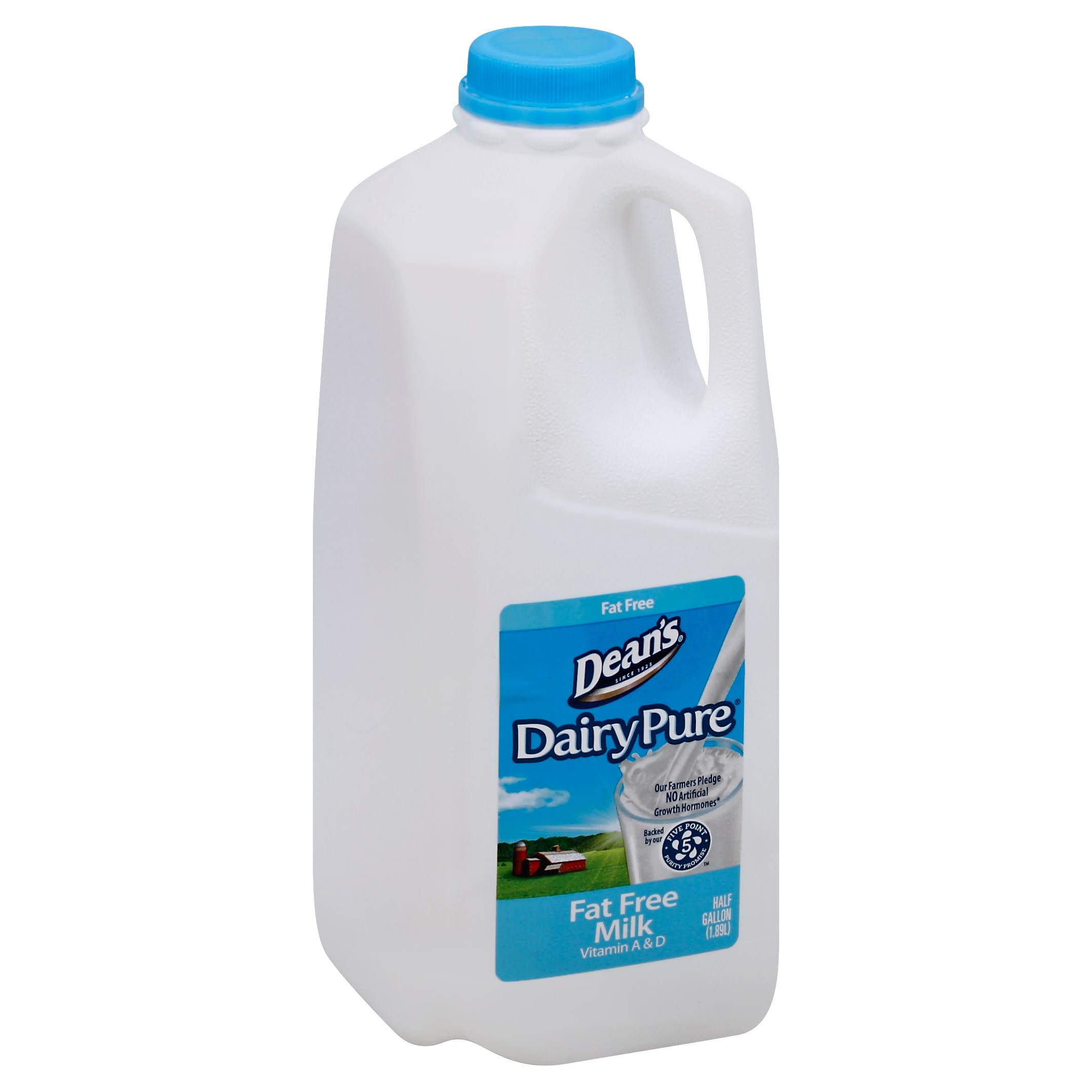 Model Dairy Dairy Pure Fat Free Milk - 1/2 Gallon