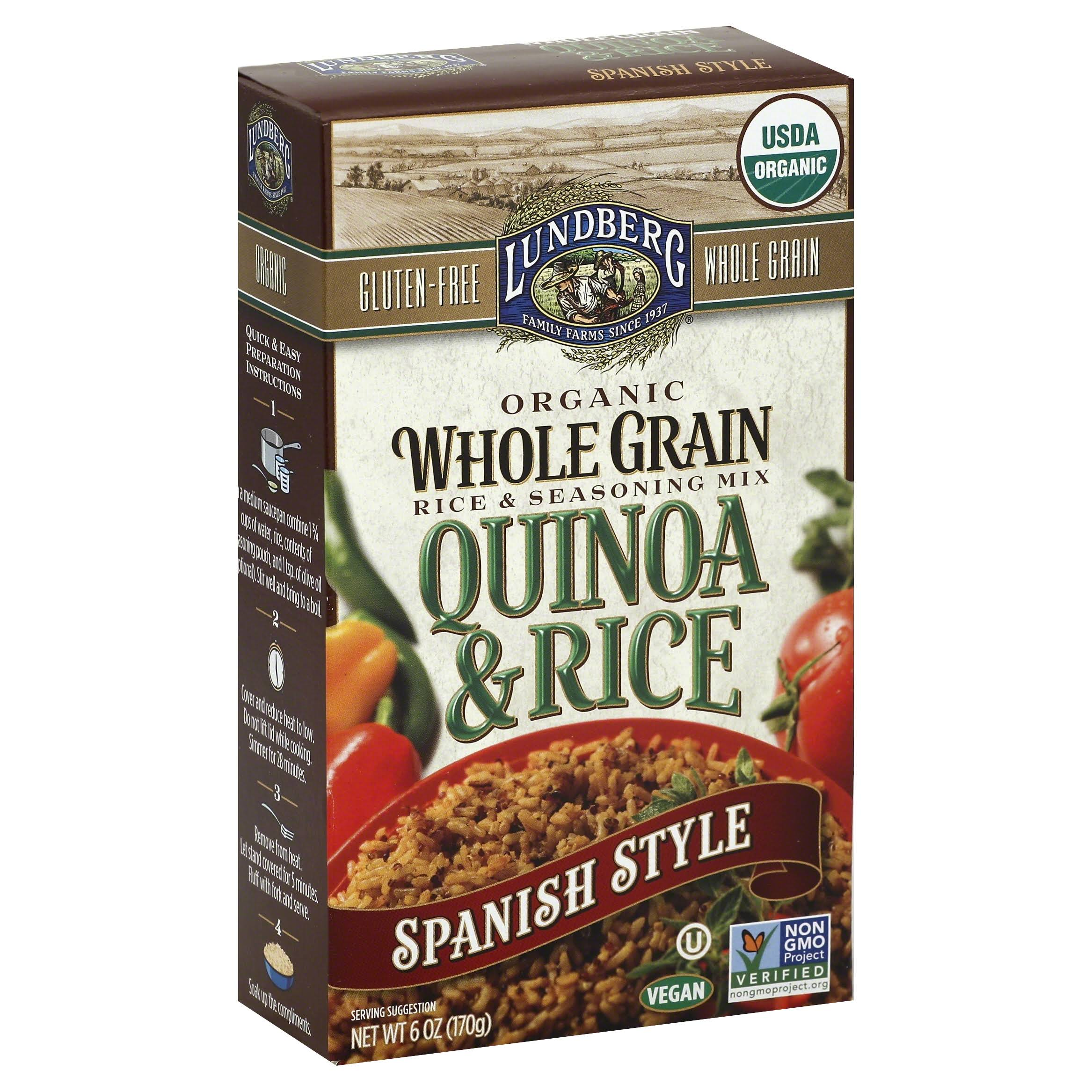 Lundberg Whole Grain Quinoa & Rice - Spanish Style, 6oz