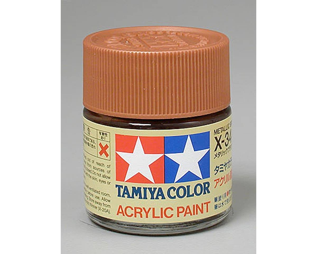 Tamiya Acrylic X34, Metallic Brown