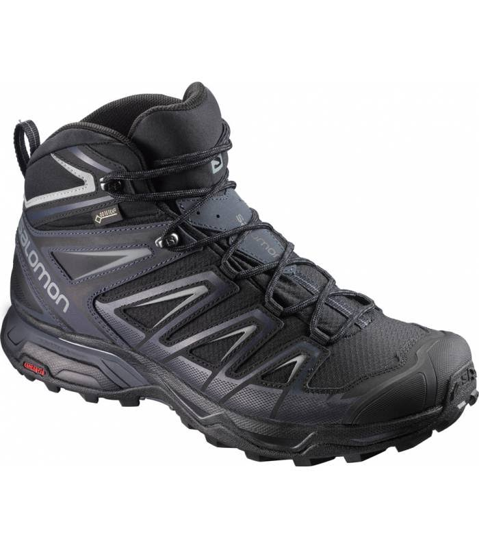 Salomon Men's X Ultra 3 Mid Trail Running Shoes - Black