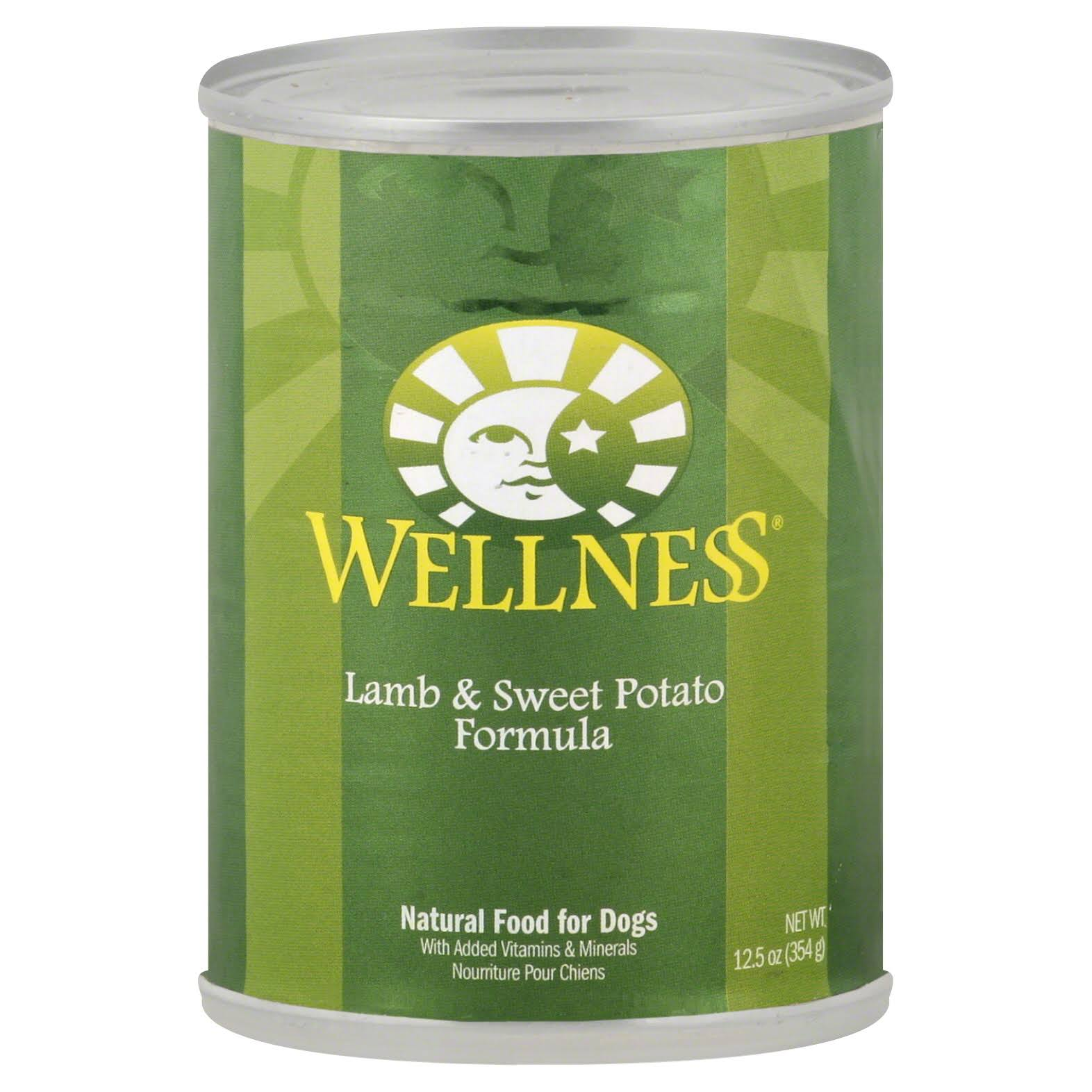 Wellness Complete Health Natural Wet Canned Dog Food - Lamb & Sweet Potato