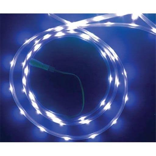 Celebrations 2T434412 Indoor/Outdoor LED Flexible Rope Light, 16.5 Feet, 99 Blue Lights