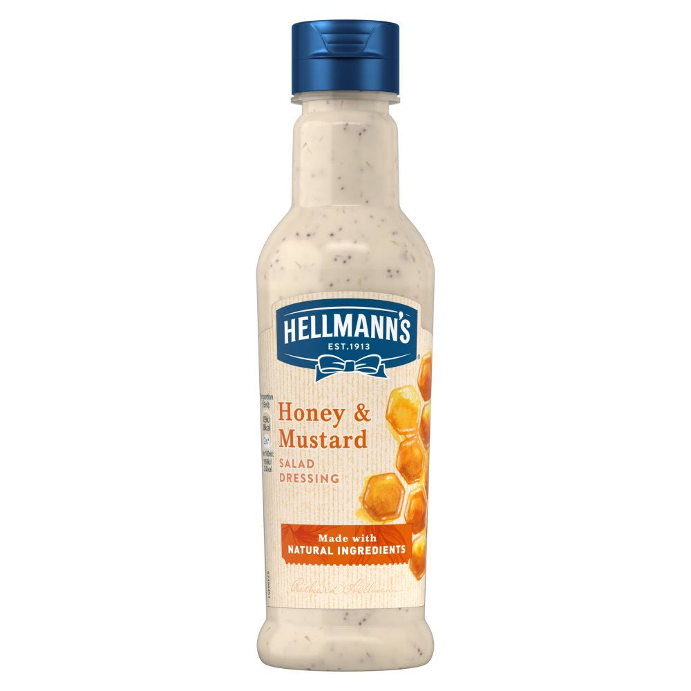 Hellmann's Honey & Mustard Salad Dressing 210ml