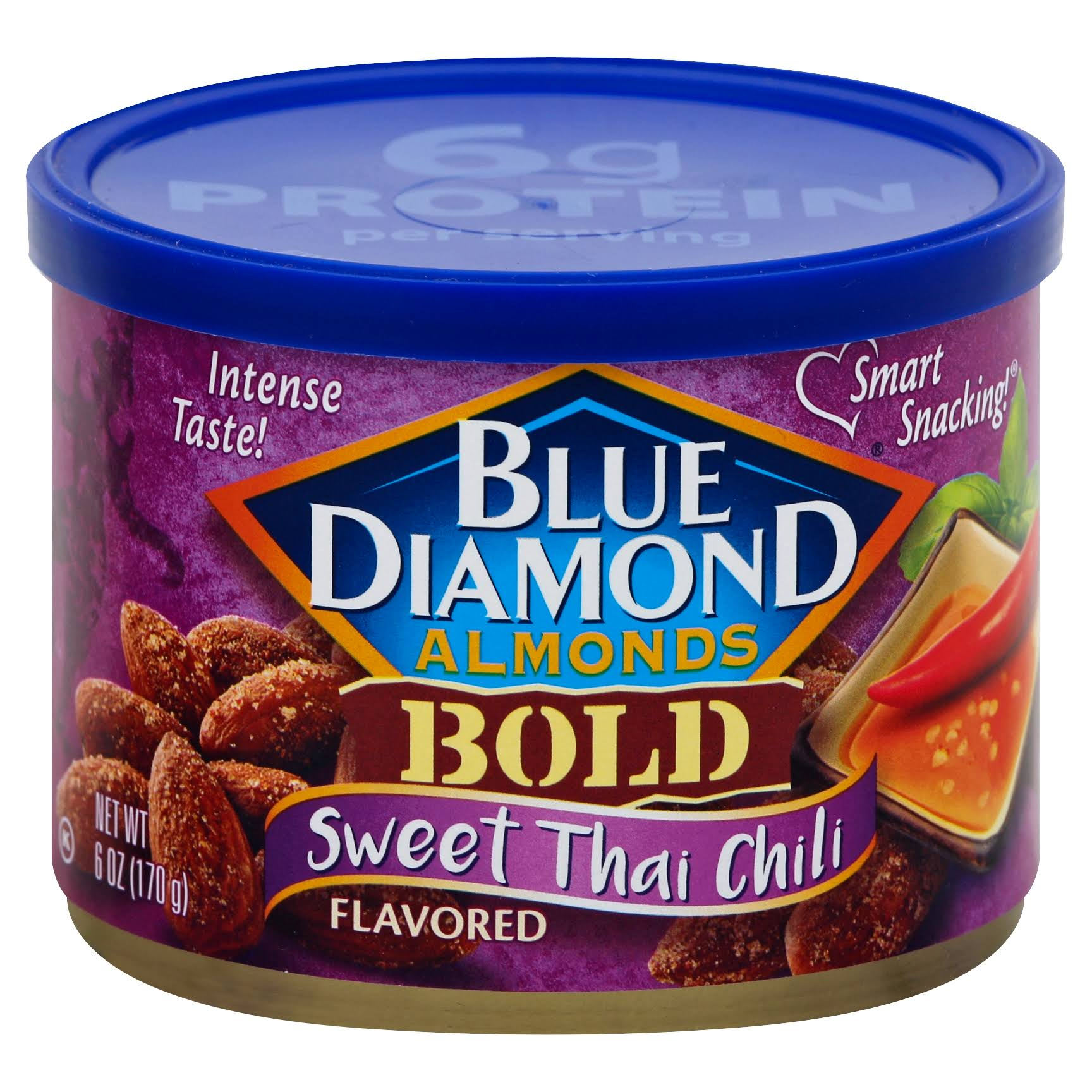 Blue Diamond Almonds Bold - Sweet Thai Chili, 170g
