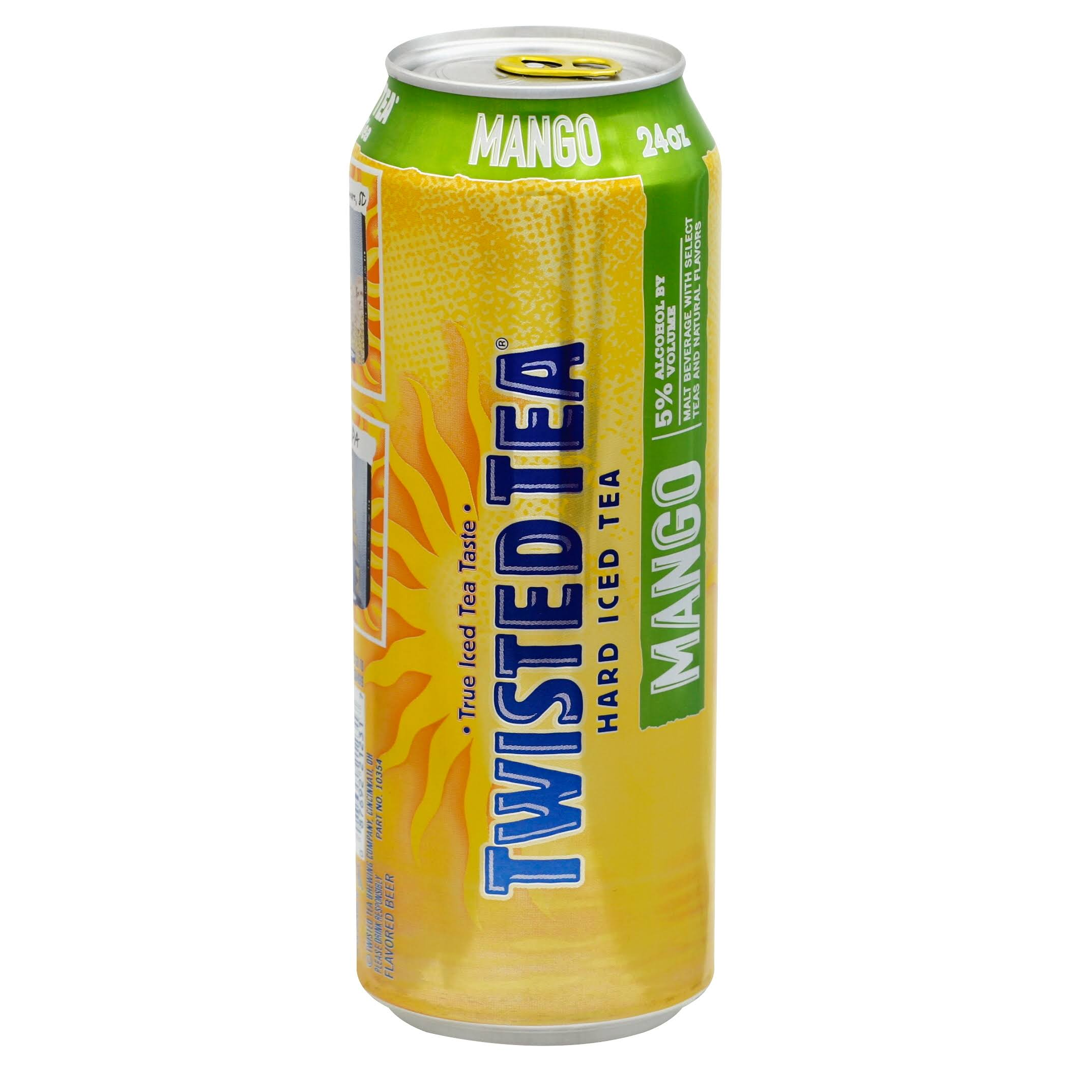 Twisted Hard Iced Tea - Mango, 24oz