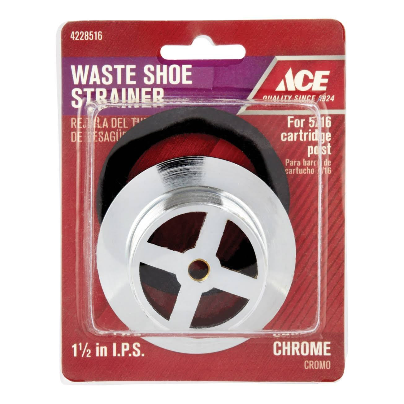 Ace Waste Shoe Strainer - 1-1/2""