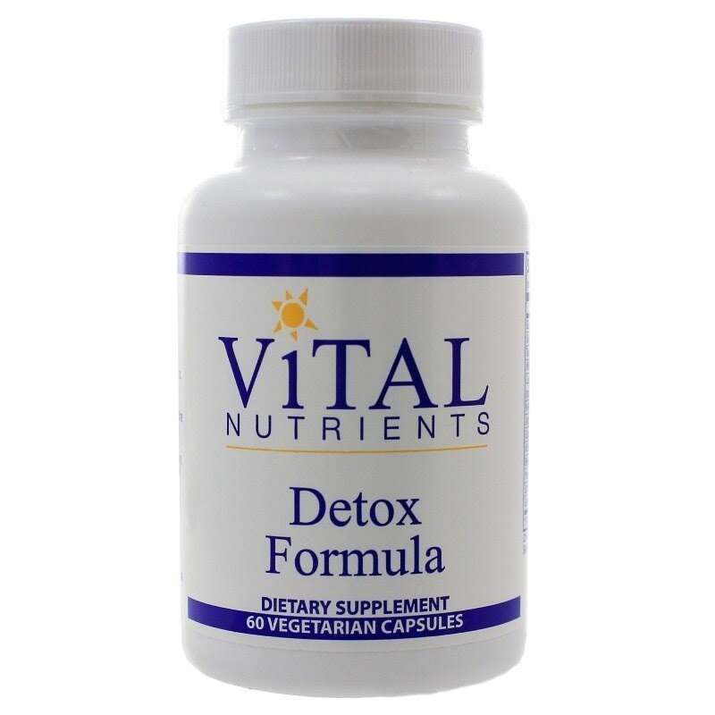 Vital Nutrients Detox Formula Dietary Supplement - 60ct