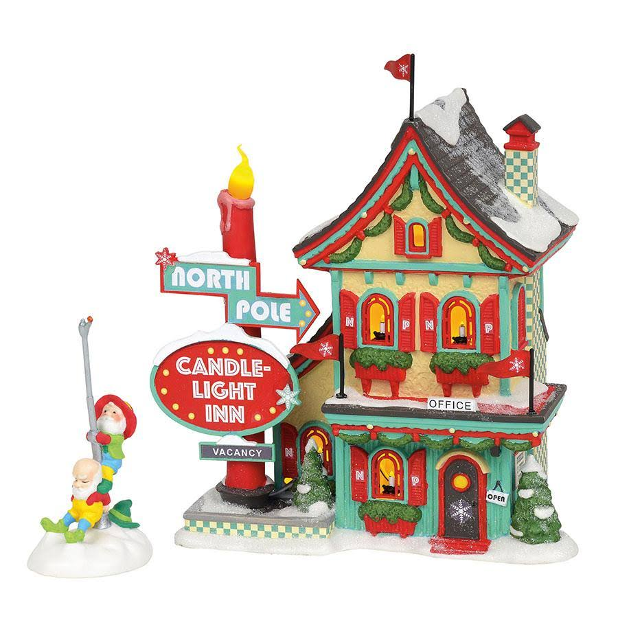 Department 56 North Pole Series Welcoming Christmas Decor