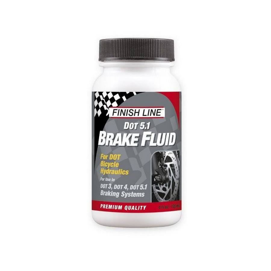 Finish Line Dot 5.1 Brake Fluid - Bicycle Hydraulics, 120 ml