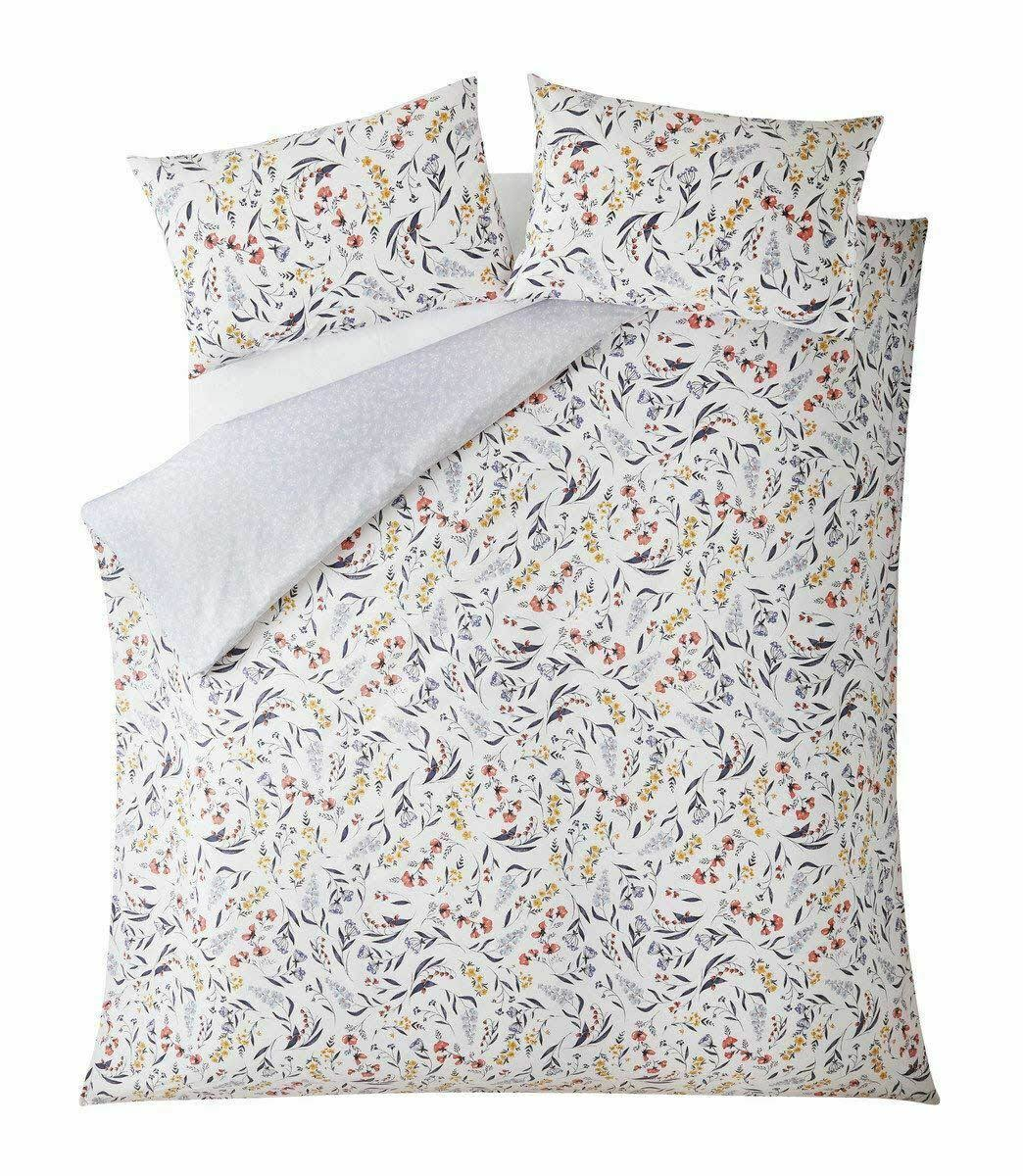 Fat Face Harvest Floral Double Duvet Cover Set