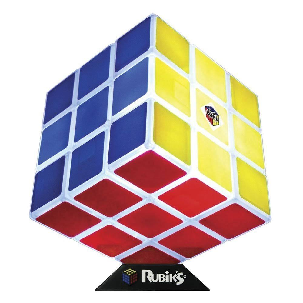 Rubik's Cube Desk Lamp